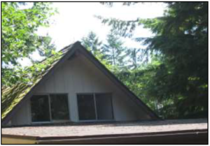 A view of the Chalet Roof